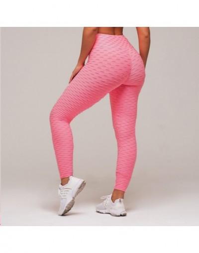 Women Pink High Waist Fitness Breathable Leggings Fashion 2019 Female Push Up Black Spandex Pants Workout Leggings Plus Size...
