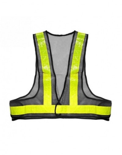 Safety Mesh Reflective Vest for MotoristsBicycle Drivers Road OfficialsTraffic ConductorsRoad Maintenance Personnel One size...