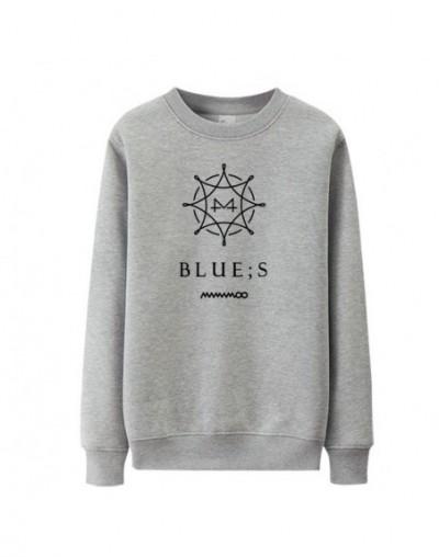 Kpop mamamoo new album blue s cover same printing o neck thin sweatshirt unisex fashion loose pullover hoodies 6 colors - 4 ...