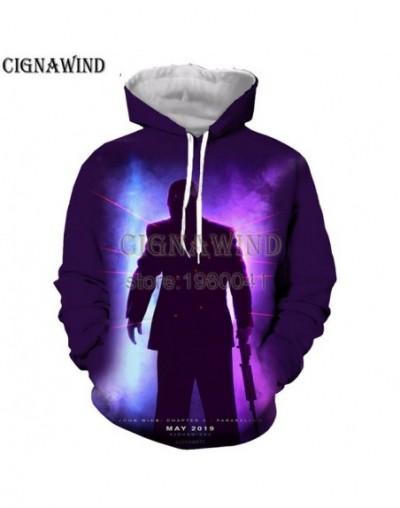 New Harajuku movie John Wick 3 hoodies men women sweatshirts printed 3d hooded pullover hooded casual streetwear - 5 - 4L414...