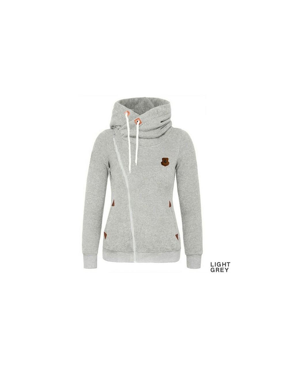 2018 Hoodie Women Sweatshirt Sweat Turn-down Collar Cardigans Tracksuit Female Bomber Jacket Women Basic Coats Chaquetas Muj...