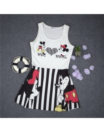 Minnie Mickey Mous Women Cartoon Dress Miki Vestidos Clothes Clothing Female Party Dress Birthday 2019 Summer Spring Costume...