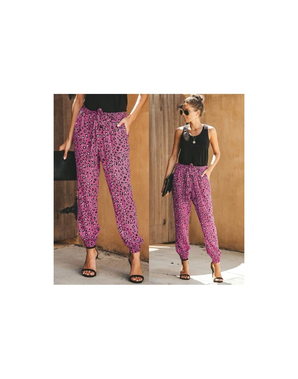 Harem Baggy Cargo Pants Women Pink Leopard Summer Green Women's Sports Plus Size Casual Pantalon Femme Streetwear trousers N...
