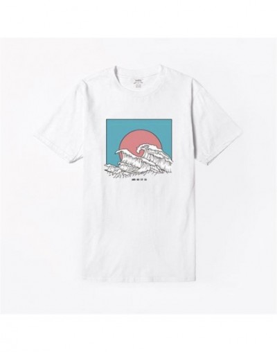 And So It Is Ocean The Great Wave of Aesthetic T-Shirt Women Tumblr 90s Fashion Graphic Tee Cute Summer Tops Casual T Shirts...