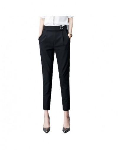 harem pants women summer women's pants high waist women pants casual office Trousers Slim Stretch women's trousers - circle ...