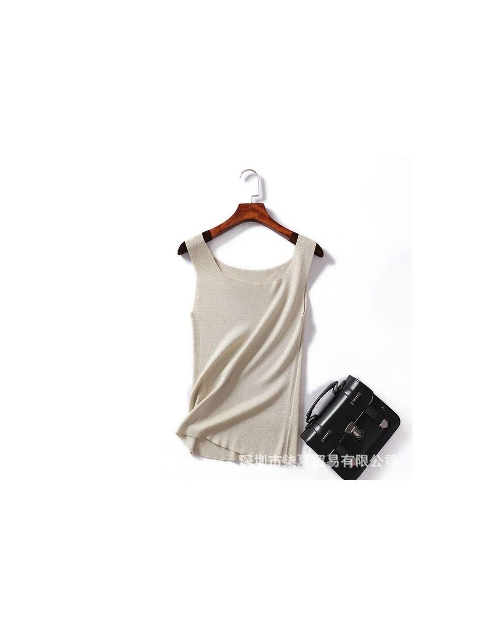 New tank tops Knitted T shirt 2019 summer solid Top Vest crop tops Camisole Women White multicolors Fitness Femme loose tops...