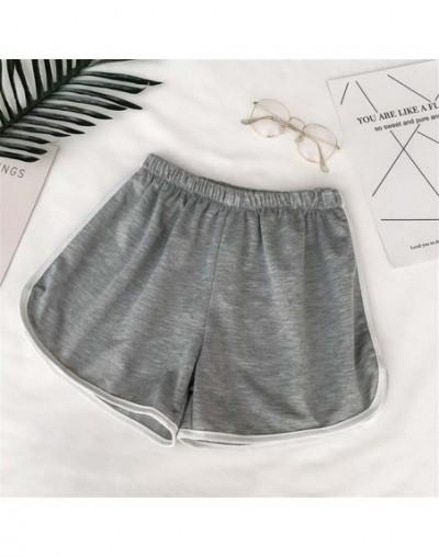 2019 Simple Women Casual Shorts Patchwork Body Fitness Workout Summer Shorts Female Elastic Skinny Slim Beach Egde Short Hot...