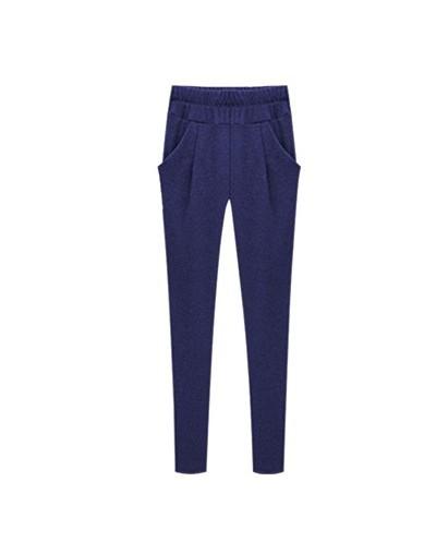 High quality harem pants capri women 2018 winter high waist elastic sports female trousers women pantalon femme Plus size mu...