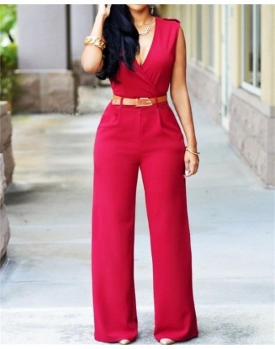 2019 Newly Women Jumpsuit Lady Sleeveless Romper Womens Jumpsuit Bodysuit Bodycon Party Streetwear Outfit Clothes Party Play...