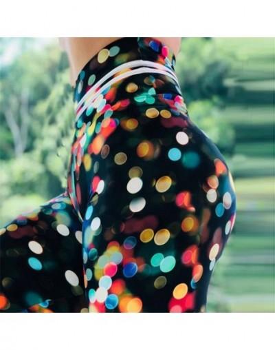 New Spring Women Leggings Colorful Point Print Legging Sporting Fitness leggins Workout High Waist Leggin Pants - HY-KYK2011...