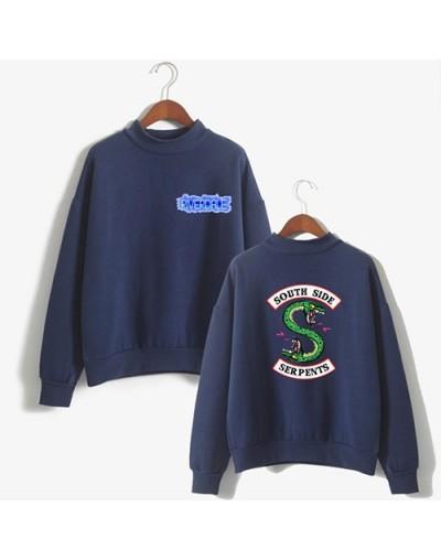 Riverdale South Side Serpents Sweatshirts SouthSide Hoodie Cartoon Print Women Funny PulloverTracksuit female hood Hooded - ...