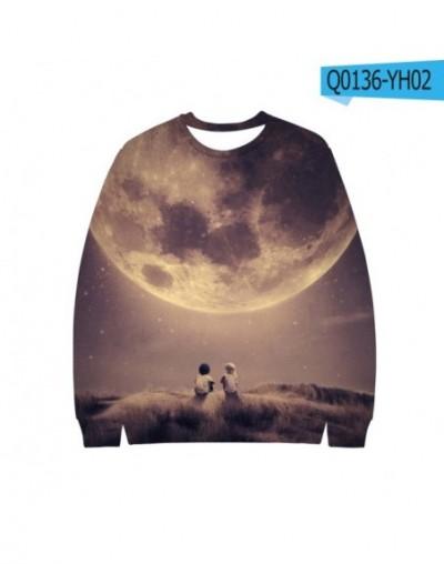 3D Galaxy Starry Sky Autumn/winter Sweatshirts New Harajuku Jumper Unisex Outwear Cool Young Casual Sweatshirts - Q0136 - 4L...