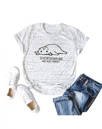 Summer Tops 2019 5XL Plus Size T Shirt Women Cotton T-Shirt Banana Cartoon Print Short Sleeve Funny Cute Tee tshirt female T...