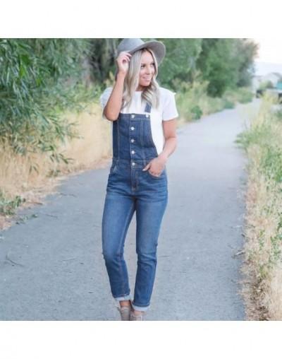 Female New Brand Fashion Street Denim Bib Summer and spring Women Jeans Spaghetti Strap Slim Pants jardineira jeans feminina...