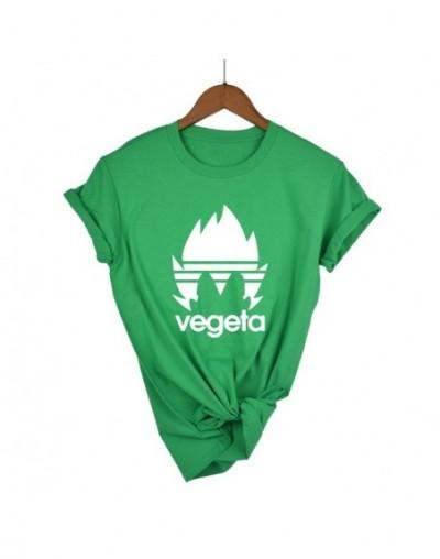 Dragon Ball Z Goku Women T-shirt Short sleeve O-Neck Tshirt Summer Saiyan Vegeta Harajuku brand clothing T shirt - green 1 -...