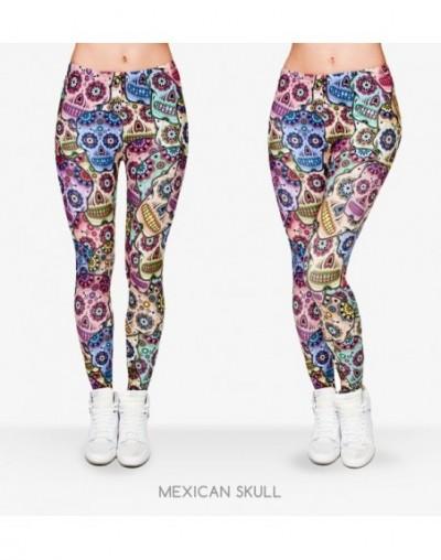 Women Money Dollar Graphic Full Printing Pants Legins Ladies Legging Stretchy Trousers Slim Fit Leggings - lga29731 - 453636...