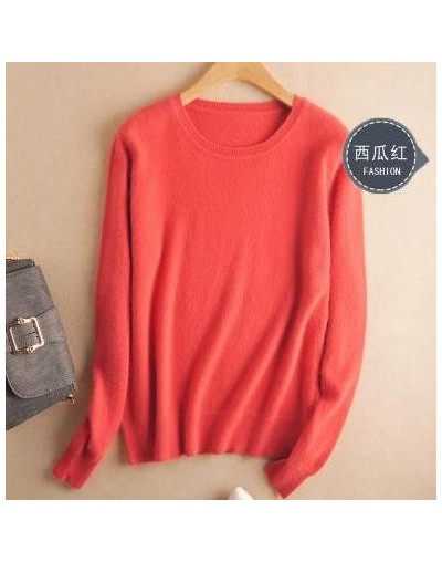 High Quality Korean Cashmere cotton Knitted Sweater Women 2019 Autumn Jersey Pullover Jumper Female Pull Femme Hiver Sweater...