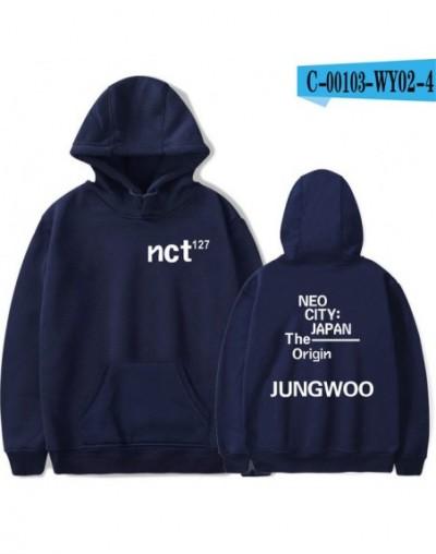 NCT 127 Harajuku Hoodies Sweatshirt 2019 New Kpop Casual Fashion Cool Kpop College Style Autumn/Winter Soft Hoodies Sweatshi...