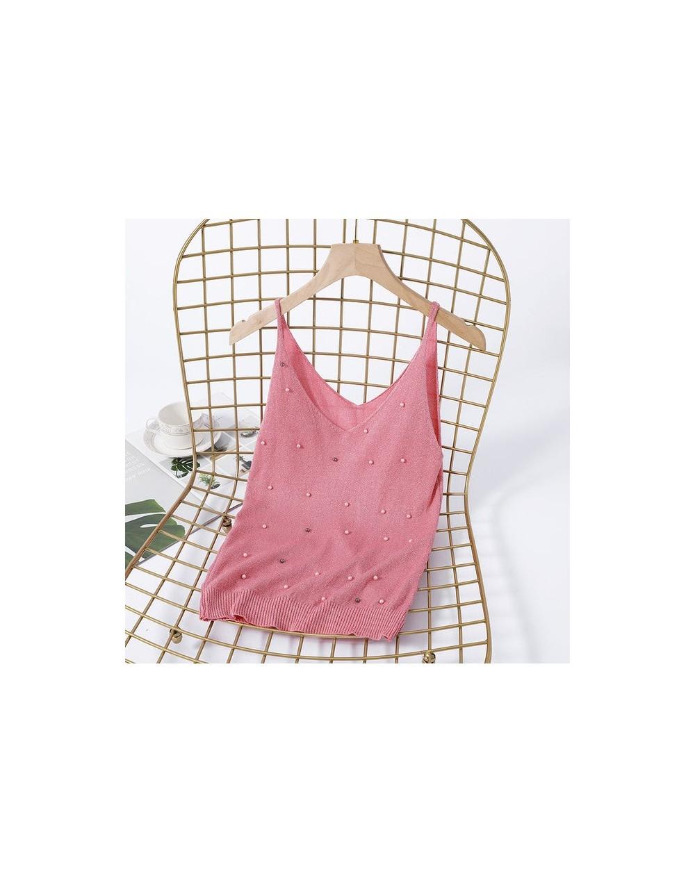 Crop Tops Women 2019 Sexy Knitted Tank Tops Gold Thread Top Vest Summer Camisole Women Streetwear Tank Top Fitness Femme T s...