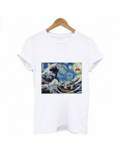 2019 New Summer T Shirt Women spoof Titanic cat Printed Harajuku Female T-shirt aesthetics Tee Hipster Thin section tops Tsh...