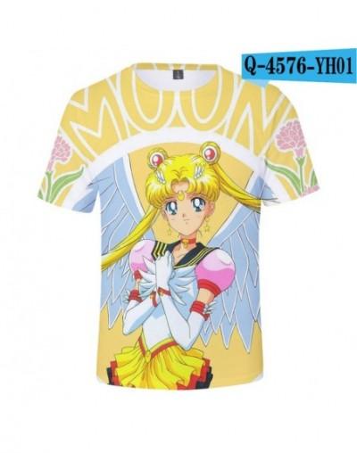 Sailor Moon 3D T Shirt Women 2019 Japan Anime T-shirts Exclusive Harajuku Fashion 3D Short T-shirt Women XXS-4XL - Q4576 - 4...