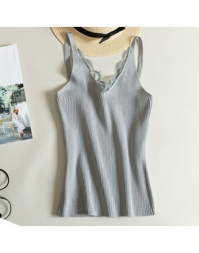 Aofshe Women Summer Chain Sling Square Collar Camis Pure Color Slim Fit Vest Sleeveless Tops