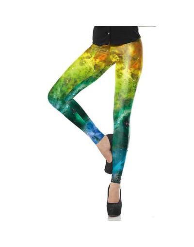 New Fashion Fitness Mujer Soft Elastic Interstellar Leggins Pants Galaxy Space Printed Women Workout Leggings - KDK1658 - 4M...