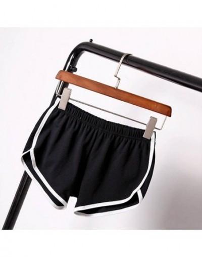 Summer Street Fashion Shorts Women Elastic Waist Short Pants Women All-match Loose Solid Soft Cotton Casual Short Femme - B ...