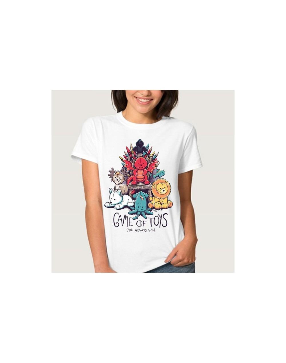 Game of Thrones Arya Stark NOT TODAY Mother of Dragons T Shirt Women T-shirt Female Top Tee Jon Snow Tshirt - 3012 - 4241261...