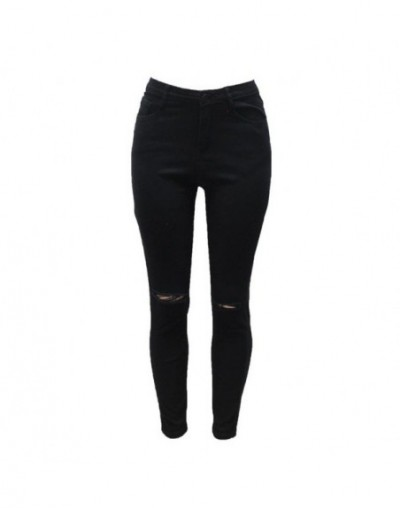 Ripped Jeans For Women With High Waist 2017 Jeans Woman Slim Tight Skinny Women Jeans Female Hot Plus Size Women Clothing Pa...