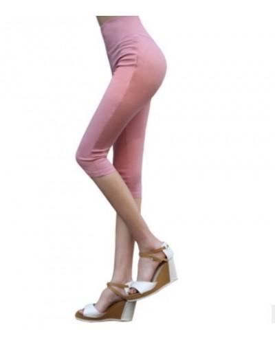 M-6XL Plus Size Summer Candy-colored Leggings Women Leginsy Damskie Slim High Waist Leggings Casual Ladies Shiny Leggings - ...