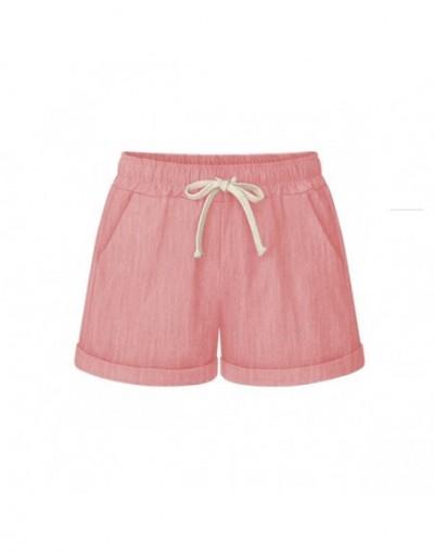 Summer Womens High Waist Loose Wide Leg Shorts Thin Casual Shorts Large Size 6XL Haren Shorts Female Cotton Short Pants - Pi...