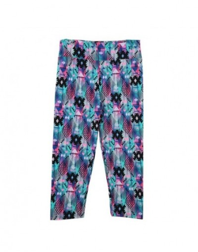 female Vintage High Waist Floral Leggings Printing Capris Lady's Fitness Workout leggings Casual Pants Wear trousers for wom...