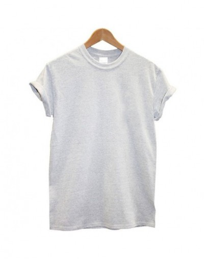 New Arrival 100% Cotton T-shirt Women and Men Solid T Shirt Summer Cool Tops Streetwear Clothing Female Tees Femme - HM-Spor...