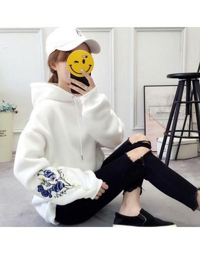 Hoodies Women 2019 Large Size School Students Thicken Loose Hooded Womens Pullover Letter Printed Korean Ladies Sweatshirts ...