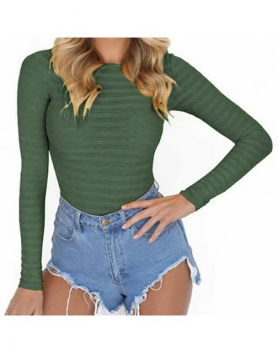 Autumn Bodycon Mesh Bodysuits Feminino Mujer Sexy Stretchy Rompers Long Sleeve Women Body Streetwear Jumper Tops One Piece G...