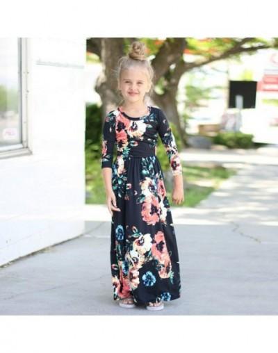 Girls Long Dress 2019 Summer Floral Print Children Beach Dress Beachwear Maxi Dress Kids Party Dresses Vestidos fit 2T-10T -...