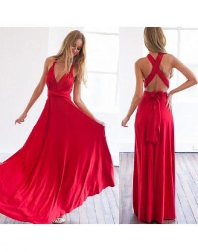 Sexy Women Multiway Wrap Convertible Boho Maxi Club Red Dress Bandage Long Dress Party Bridesmaids Infinity Robe Longue Femm...