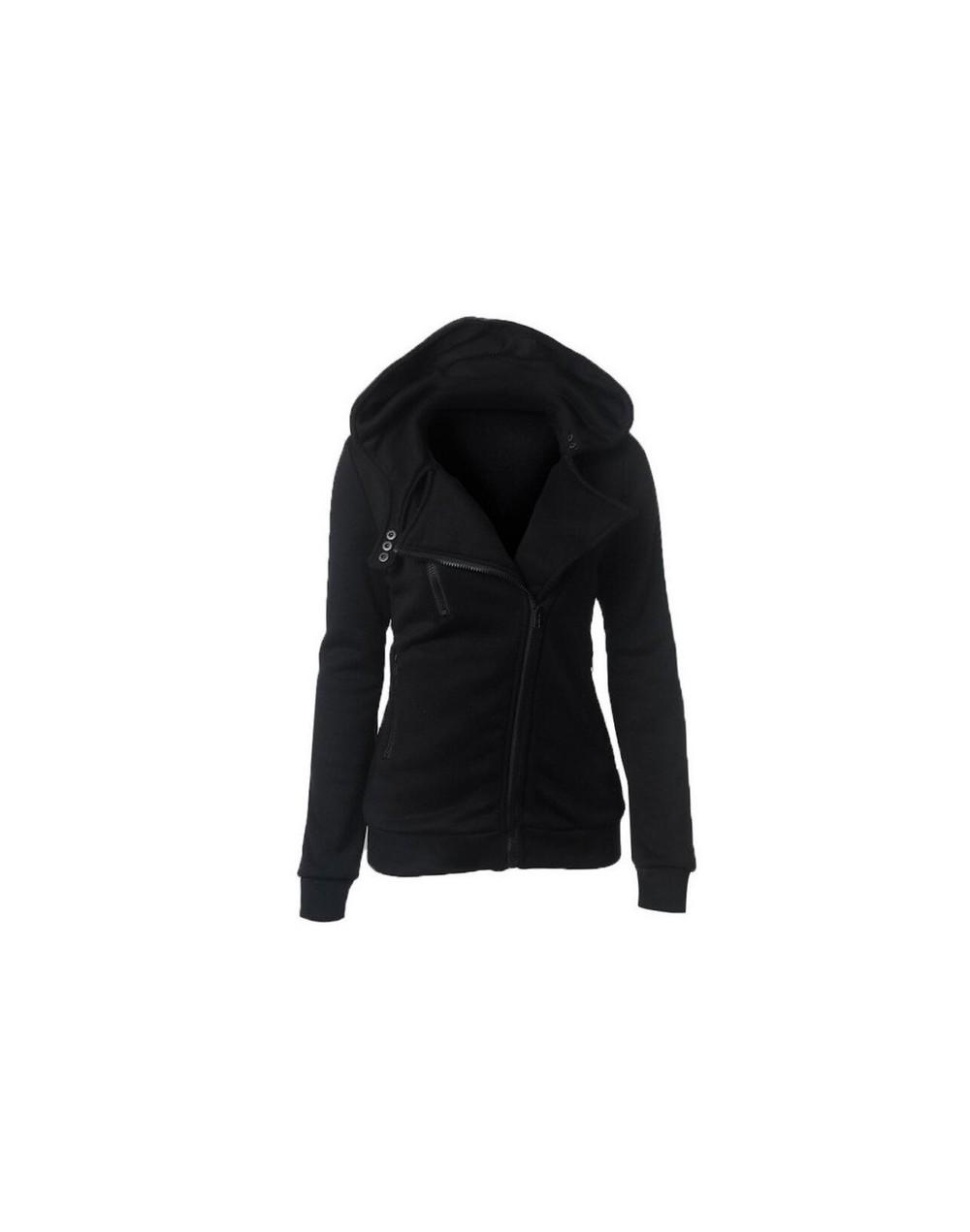 2019 Winter Jacket Women Hoodies Casual Solid Long Sleeve Zipper Thicken Mujer Sweatshirts Sudaderas Trancksuits Coat Outwea...