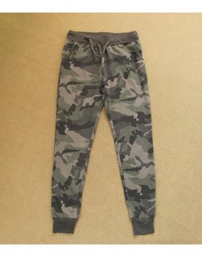 Women Camouflage Jogger Pants Ladies Camo Print Cotton Sweatpants Joggers Drawstring Elastic Waist Casual Harem Pants Plus S...