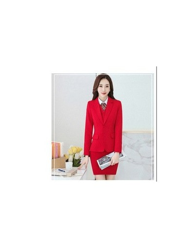 Ladies Casual Suit Skirt Trousers Shirt Three Piece Professional Female Interview Suit Overalls Uniform Long Sleeved Slim Su...