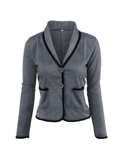 Ladies Blazer Long Sleeve Blaser Women Suit jacket Female Feminine Blazer 5XL 6XL Plus Size Casual Blazers Slim Pockets 2019...