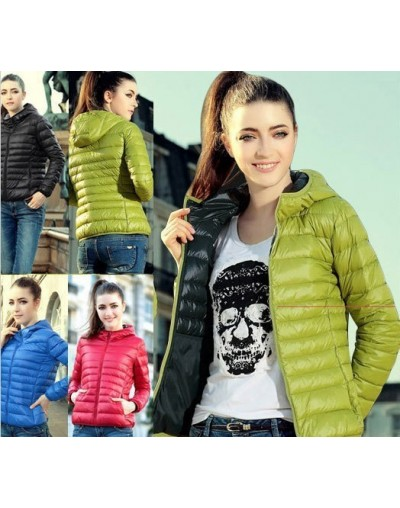 New 2017 Fashion Ladies Down Short Design Coat Winter Cotton-padded Jacket Women Slim Solid Zipper Outerwear DF-081 - Yellow...