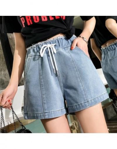 Plus Size 2019 New Spring Summer Women Denim Pants High Waist Short Jeans 3818 - As Picture - 453091187378