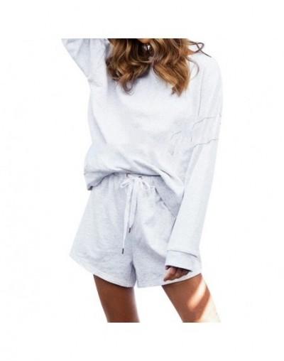 2019 White Color Casual Playsuit Fashion Romper Women Solid Color Long Sleeve combinaison Strappy Jumpsuit combinaison femme...