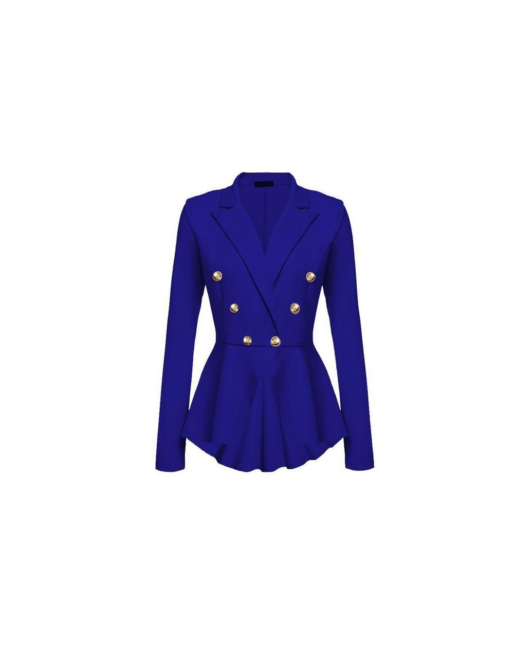 Gothic Casual Office Lady White Women Overcoats Blazer Autumn Slim Black Formal Girls Yellow Popular Female Coats Purple Bla...