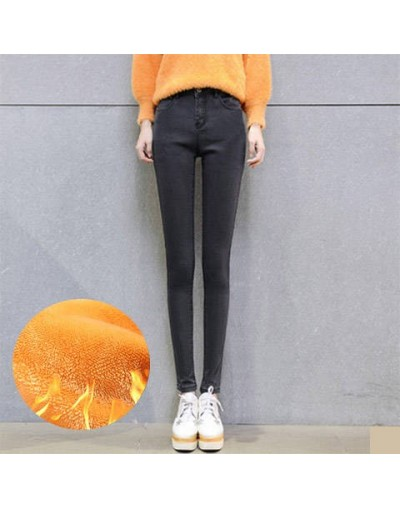 Winter Warm High Elastic Waist Casual stretch Skinny Straight Pencil Pants Women Trousers Plus Size Clothing Female Leggings...