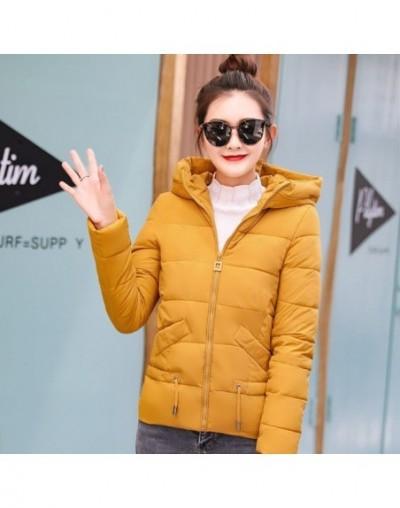 Cheap wholesale 2018 new autumn winter selling women's fashion casual warm jacket female bisic coats G131 - Yellow - 4430136...