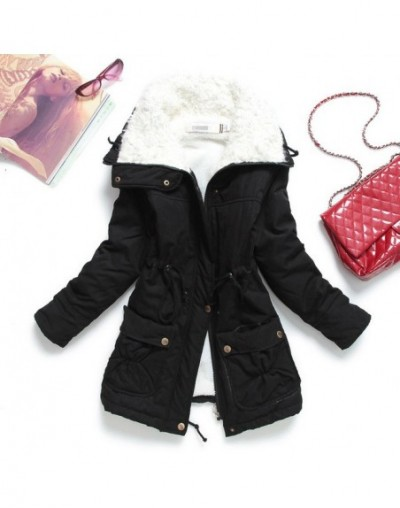 New Autumn Winter Jacket Coat Women Parka Woman Clothes Solid Long Jacket Slim Plus Size Women's Winter Jackets And Coats 20...