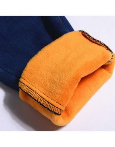 Plus Velvet Thick Women Jeans Winter Pencil Pants Women Warm High Waist Denim Mom Jeans Long Trousers Stretch Black Jeans C5...